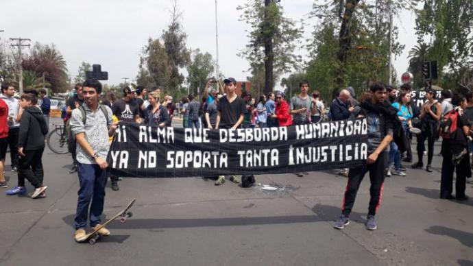 Estallido social en todo Chile