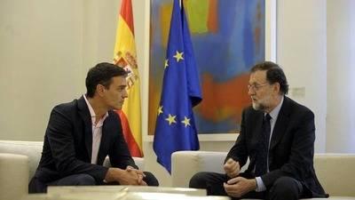 Pedro Sánchez inauguró la 'ronda de contactos' anunciada por Mariano Rajoy el 2 de octubre