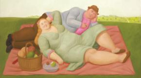"""""""Botero: 60 años de pintura"""", exposición en CentroCentro de Madrid"""