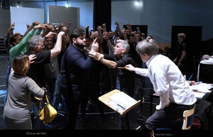 Falstaff, nueva Ópera en el Teatro Real