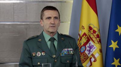 El general de brigada José Manuel Santiago