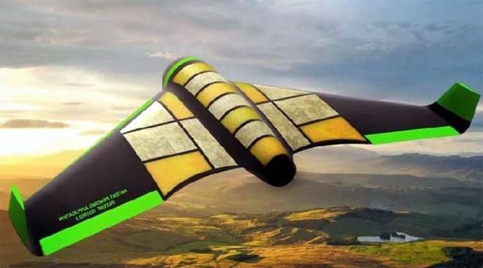 Crean dron comestible para enviar ayuda humanitaria