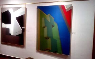 Isabel López Ruíz, presenta su obra en la sala de la antigua Bodega Los Llanos