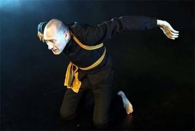 """Daniel Albadalejo en """"Malvados de Oro"""" en el Teatro Carlos III de San Lorenzo de El Escorial"""