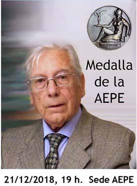 Rafael Botí, Medalla de la AEPE al coleccionista y crítico de arte