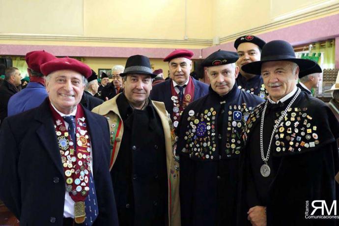 Cuarenta y cinco cofrades cántabros asistieron al Gran Capítulo de la de los Nabos
