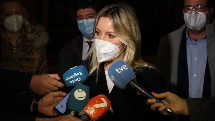 Ana Martínez Vidal, portavoz del Gobierno de Murcia