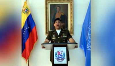 Chirinos Dorante es el cuarto alto mando, sin manejo de tropa, que se rebela contra Maduro en menos de un mes. (Foto: Captura video)