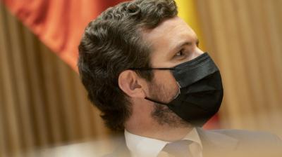 El presidente del Partido Popular, Pablo Casado.PP
