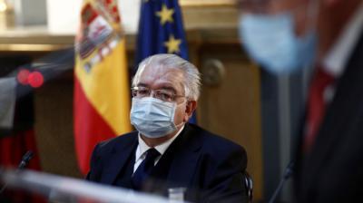 El presidente del Tribunal Constitucional, Juan José González Rivas. EFE/Mariscal/Archivo