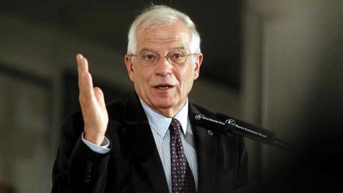 Josep Borrell, ministro del Interior