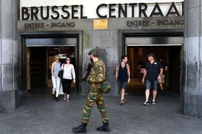 Bélgica identifica a sospechoso de atentado en estación de Bruselas