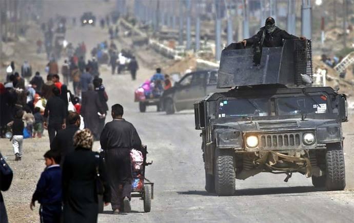 ACNUR prevé gran flujo de desplazados de la ciudad vieja de Mosul