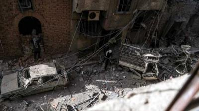 Habitantes de Damasco viven todos los días con la angustia que genera los bombardeos