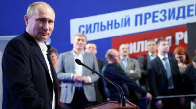 Putin dice que se centrará en política interior en próximos 6 años en Kremlin