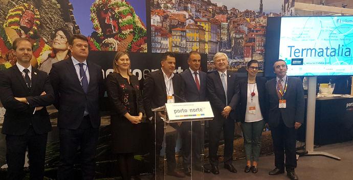 Termatalia se promocionó en la feria BTL de Lisboa