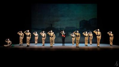 """Triunfo del espectáculo """"Vientos del Norte"""" en el Palacio de Festivales de Santander"""