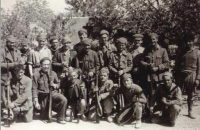 Voluntarios irlandeses en la guerra civil española