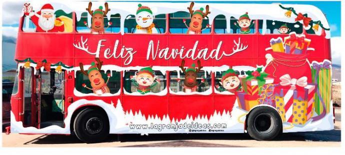 """Papá Noel se acercará a los barrios de Santa Cruz de Tenerife gracias a """"La Guagua Navideña"""" by"""