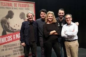 El I Festival de Filosofía de Málaga cierra su primera edición con un gran éxito de público