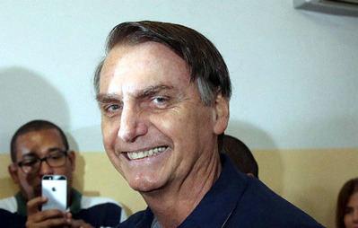 El ultraderechista Bolsonaro tiene las mejores posibildiades para ganar la presidencia de Brasil