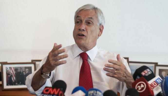 Sebastián Piñera,presidente de Chile
