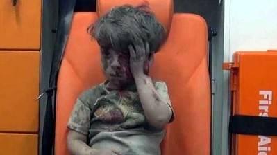 ¿Qué se sabe del pequeño Omran, símbolo de la guerra en Siria?