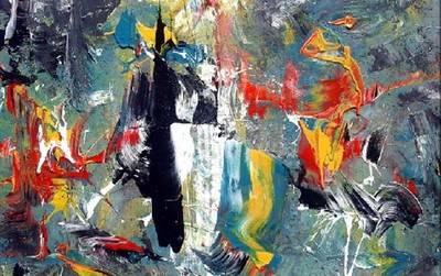 Miguel Lisbona, Pintura Abstracta (2012 – 2017) entre la textura y la atmósfera lírica