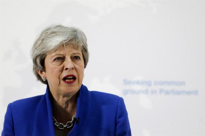 Theresa May Primera Ministra británica