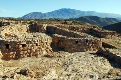 """El primer asentamiento humano en la región, """"Los Millares"""" en la llamada """"edad del cobre""""  (foto: Alexandra Alvarado)"""