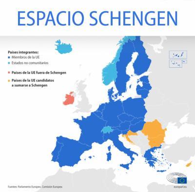 Europa no cerrará la zona Schengen por la nueva variante del virus
