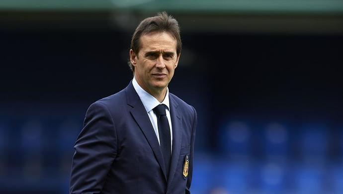 Julen Lopetegui, entrenador del R.M.
