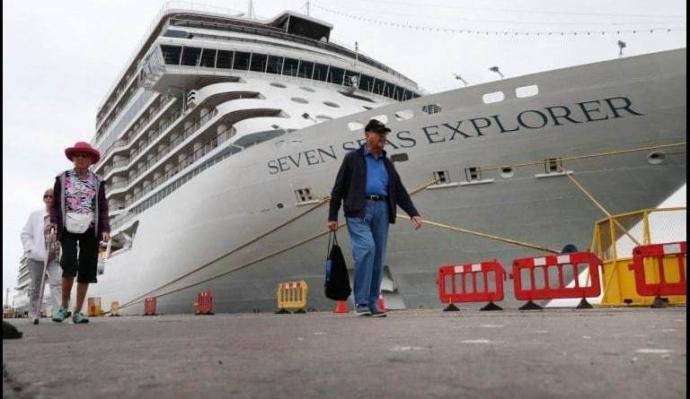 Antiguas salitreras chilenas: destinos visitados por cruceristas del Seven Seas Explorer