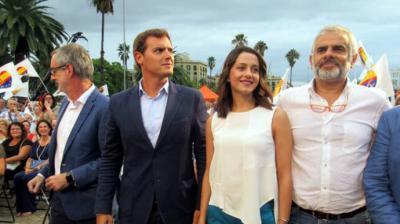 """Villegas (Cs) recalca que la posibilidad de que Arrimadas vaya al Congreso """"no está encima de la mesa"""""""