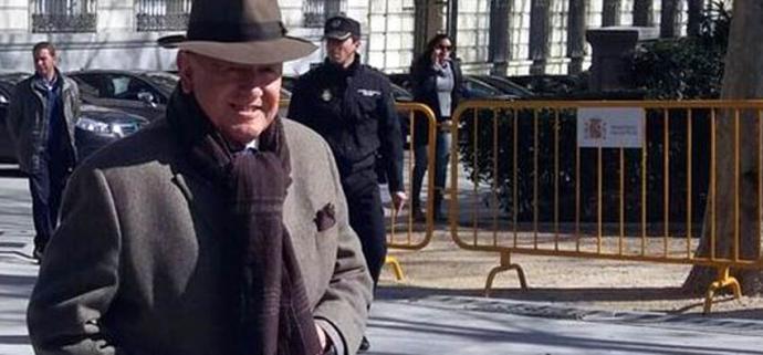 El exjefe de Asuntos Internos de la Policía Nacional, Marcelino Martín-Blas,  en una imagen de archivo
