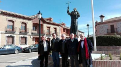 Jorge Lencero, escultor de la estatua de Fray Sebastián de Totanés