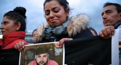 Un día después de las matanzas racistas de Hanau se celebraron vigilias en toda Alemania