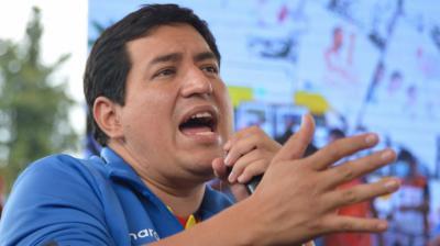 Andrés Arauz le debe todo en la política al socialista Rafael Correa.