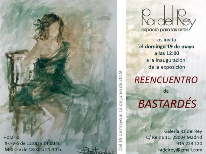 """Kuka Bastardés: Exposición """"Reencuentro"""" con figura y marinas, en la Galería Ra del Rey"""