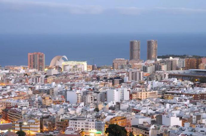 Vista parcial de Santa Cruz (imagen de referencia)