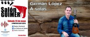 El timplista Germán López, ofrecerá un concierto de timple en el Salón Guimerà 'on line'