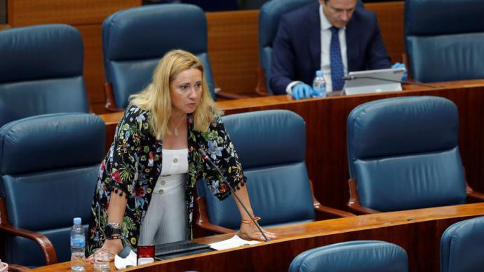 La diputada del PP, Almudena Negro, en una imagen de archivo.