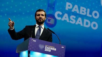 Casado teme que los miembros del PP que piden entenderse con el PSOE allanen el pacto de izquierdas