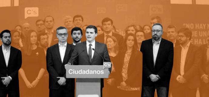 La dimisión de Rivera provoca la desbandada de los principales dirigentes catalanes de su núcleo duro