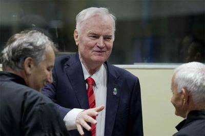 El exmilitar serbiobosnio Ratko Mladic
