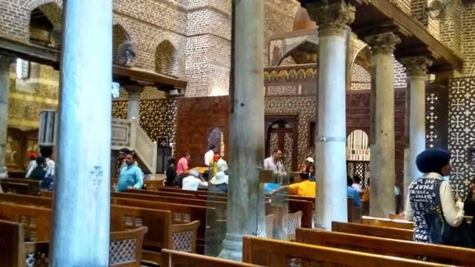 La iglesia copta de San Sergio, refugio de la Sagrada Familia durante su exilio en Egipto