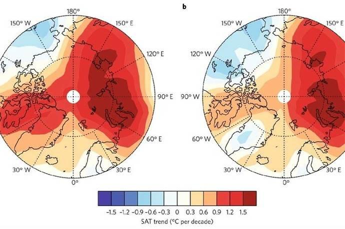 No hubo pausa en calentamiento global de 1998 a 2012