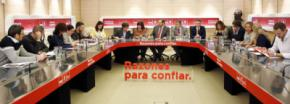 Reunión del Comité Electoral del PSOE. INMA MESA (PSOE)