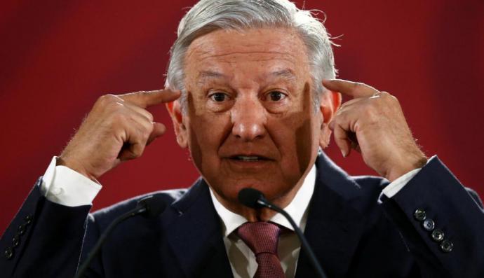 El presidente de México, Andrés Manuel López Obrador (AMLO),