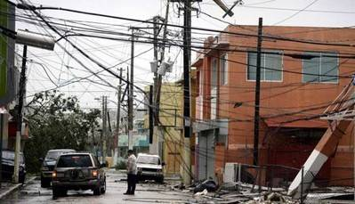 Puerto Rico podría seguir sin electricidad por semanas o meses